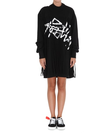 Palm Angels Fringed Over Dress