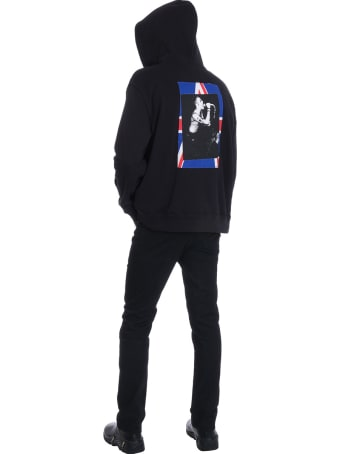 Fred Perry by Raf Simons Sweatshirt In Black Cotton