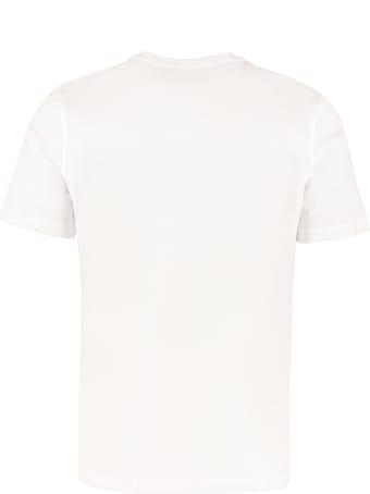 Salvatore Ferragamo Printed Cotton T-shirt