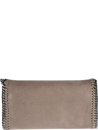 Stella McCartney Chain Trimmed Flap Shoulder Bag