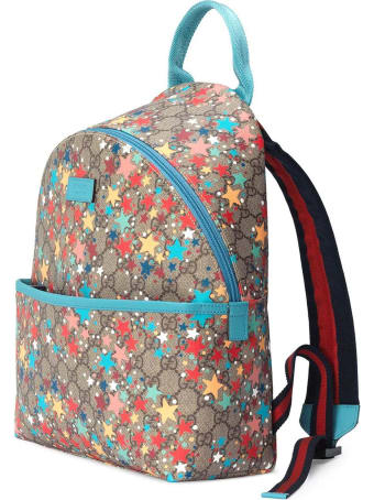 Gucci Children's Gg Star Print Backpack