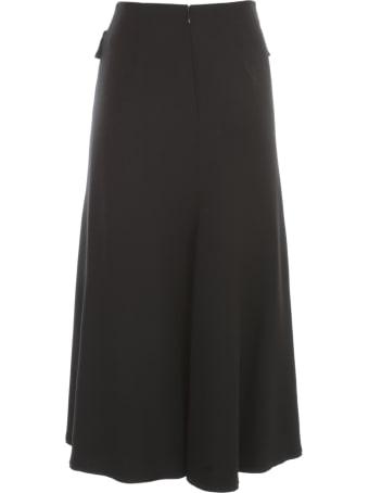 Mantù Longuette Skirt W/flared Bottom