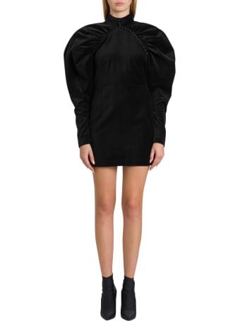 Rotate by Birger Christensen Number 1 Velvet Dress