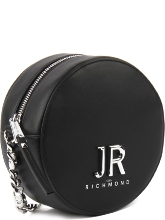 John Richmond Round Shoulder Bag With Logo