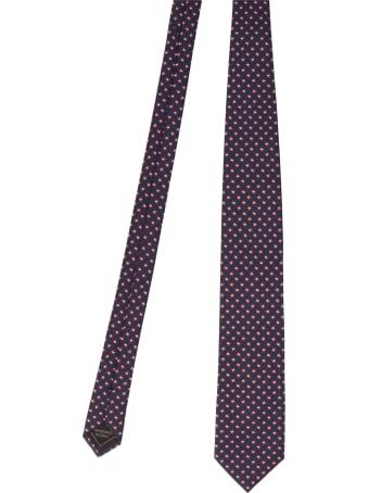 Brioni 'micro Medallion' Tie