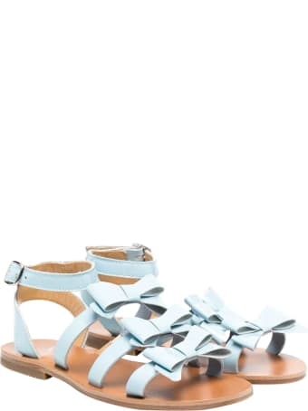 Gallucci Kids Light Blue Sandals