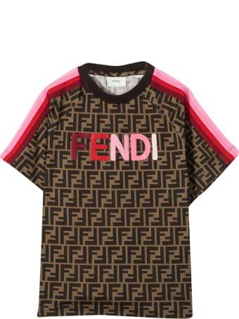 Fendi Brown T-shirt