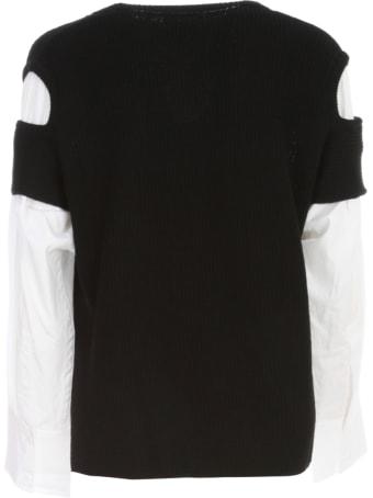 Y's Shoulder Hole Sweater L/s W/shirt