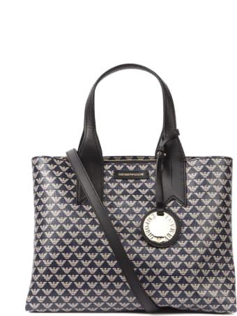 Emporio Armani Emporio Armani All Over Iconic Logo Bag