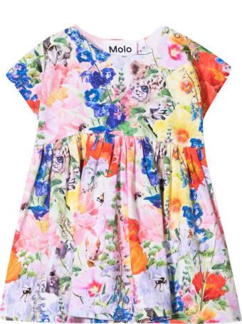 Molo Multicolor Print Dress