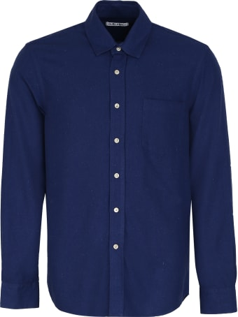 Our Legacy Long-sleeved Silk Shirt