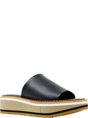 Clergerie Robert Clergerie Beige Leather Flat Shoes
