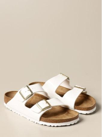 Birkenstock Shoes Arizona Birkenstock Slipper Sandal In Patent Leather