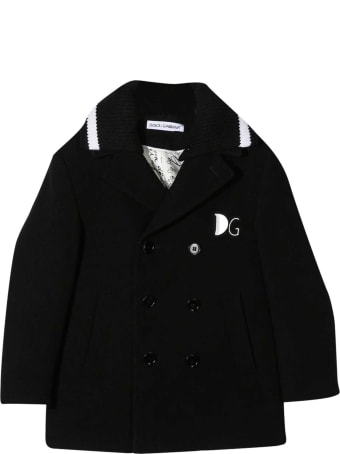 Dolce & Gabbana Black Coat