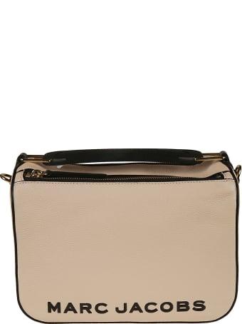 Marc Jacobs Top Zip Logo Printed Shoulder Bag