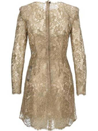 Dolce & Gabbana Dolce&gabbana Floral Lace Dress