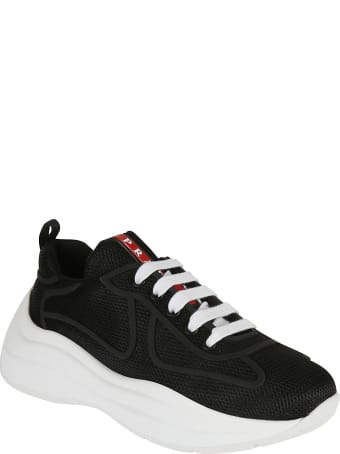 Prada Linea Rossa Bike Sneakers