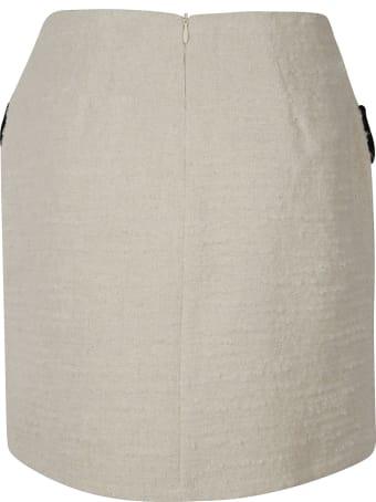 Be Blumarine Side Flap Pocket Detail Skirt