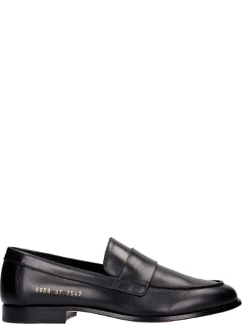 Common Projects Loafer Loafers In Black Leather
