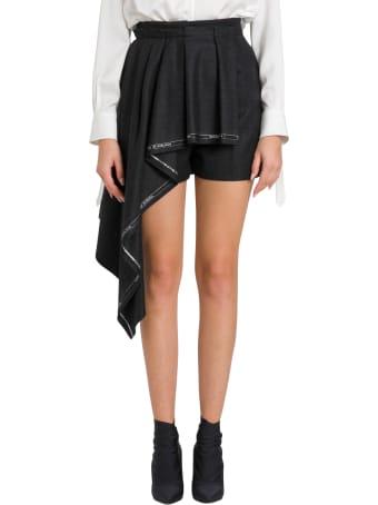 Alexander McQueen Plated Drape Shorts