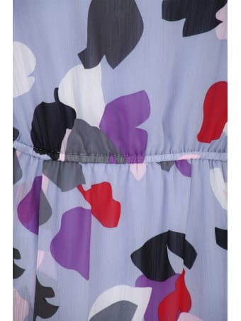Emporio Armani Long Chiffon Dress
