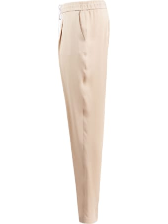Fabiana Filippi Spello Silk Trousers