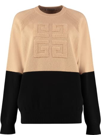 Givenchy Logo Cachemire Pullover