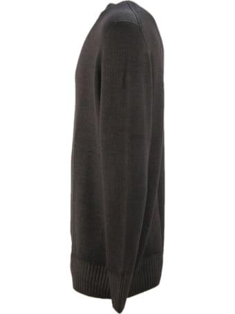 Drumohr Brown Merino Wool Sweater