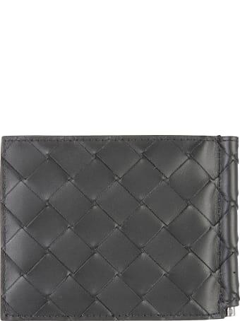 Bottega Veneta Woven Fold Wallet