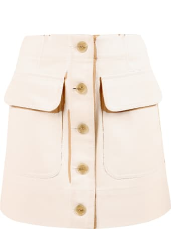 Acne Studios Two-tone Skirt