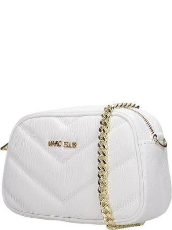 Marc Ellis Bonnie Clutch In White Leather