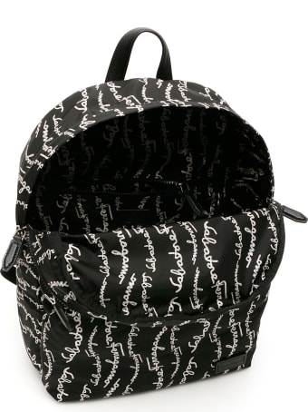 Salvatore Ferragamo Signature Nylon Backpack
