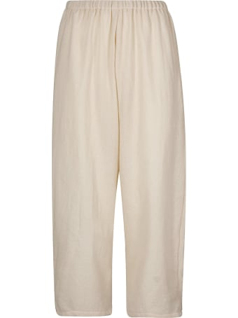 A Punto B Elasticated Cropped Trousers