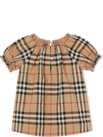 Burberry Beige Cotton Dress
