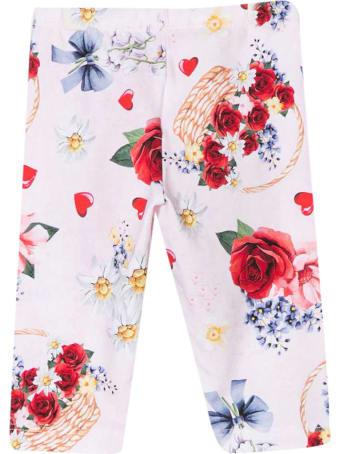 Monnalisa Floral Leggings