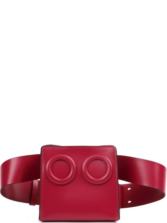 BOYY Claret Leather Belt Bag