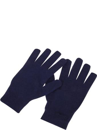 Off-White Felted Wool Short Gloves