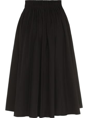 Marni Poplin Midi Skirt