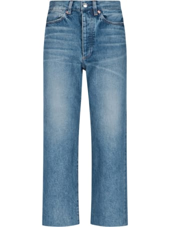 Tanaka Crop Denim Pants