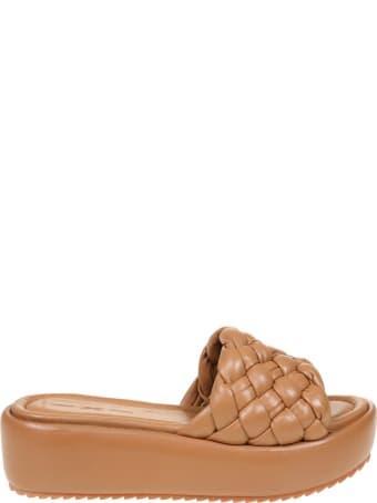 181 Alberto Gozzi 181 Sandal In Leather Color Nappa