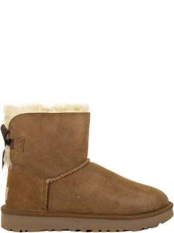 UGG Mini Bailey Bow Ii Chestnut Boots