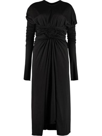 Dolce & Gabbana Draped Jersey Dress