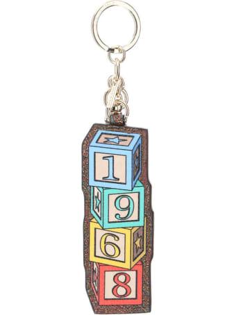 Etro Charm Key Ring Twister Toys Logo