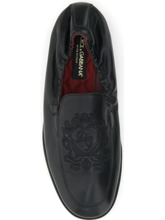 Dolce & Gabbana Ariosto Loafers With Coat Of Arms Embroidery