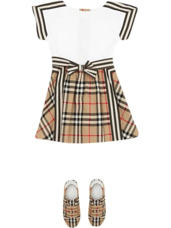 Burberry White Dress