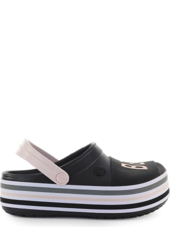 Crocs 'be You' Black Platform Clog