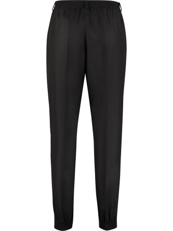 Agnona Wool Tailored Trousers