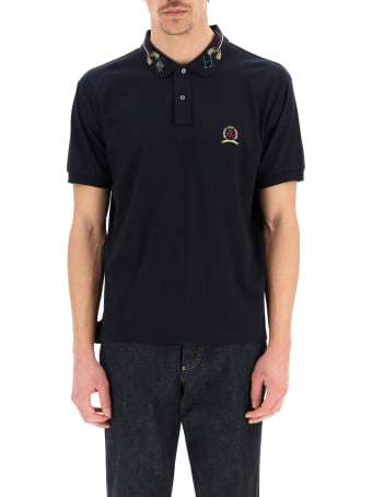 Tommy Hilfiger Polo Shirt With Embroidered Collar