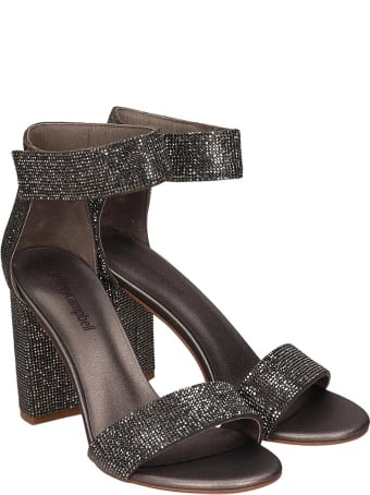 Jeffrey Campbell Lindsay Sandals In Grey Leather