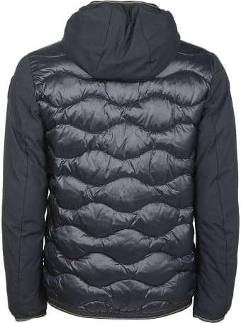 Blauer Patched Pocket Zip Padded Jacket